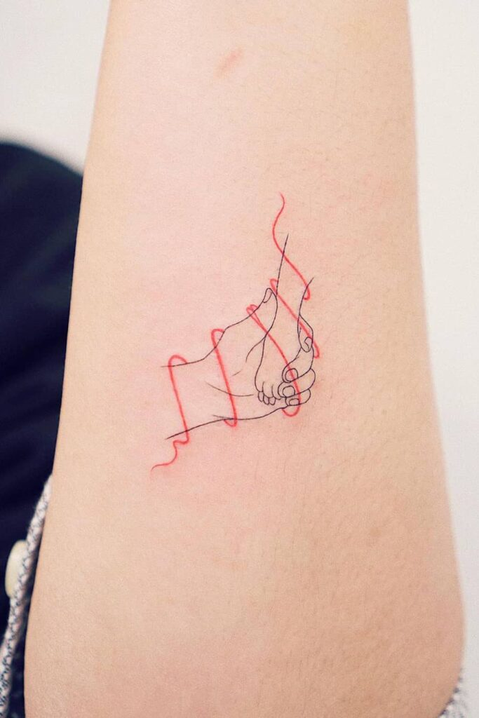 Line tattoos for pets