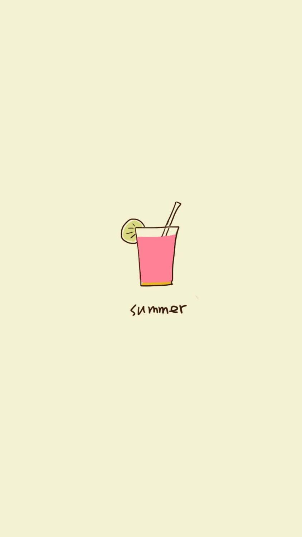 Cute summer icon