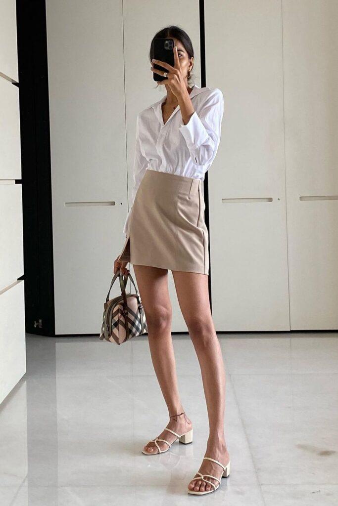 Summer classic office dress