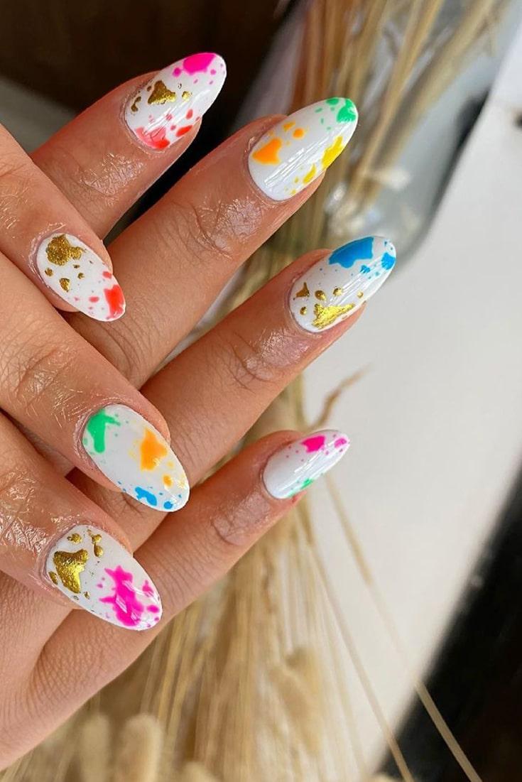 Incredible summer nail art