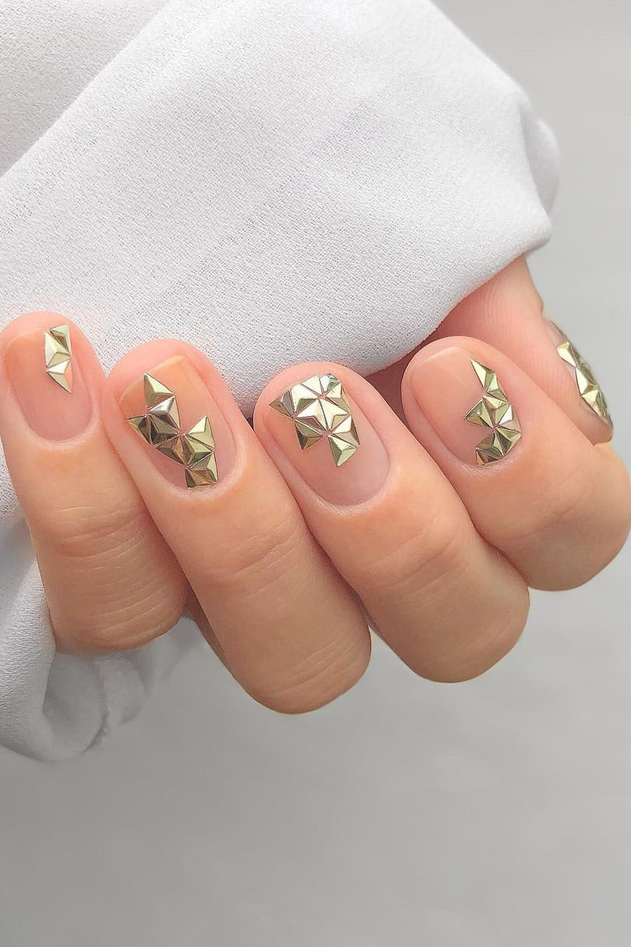 Special negative space nails