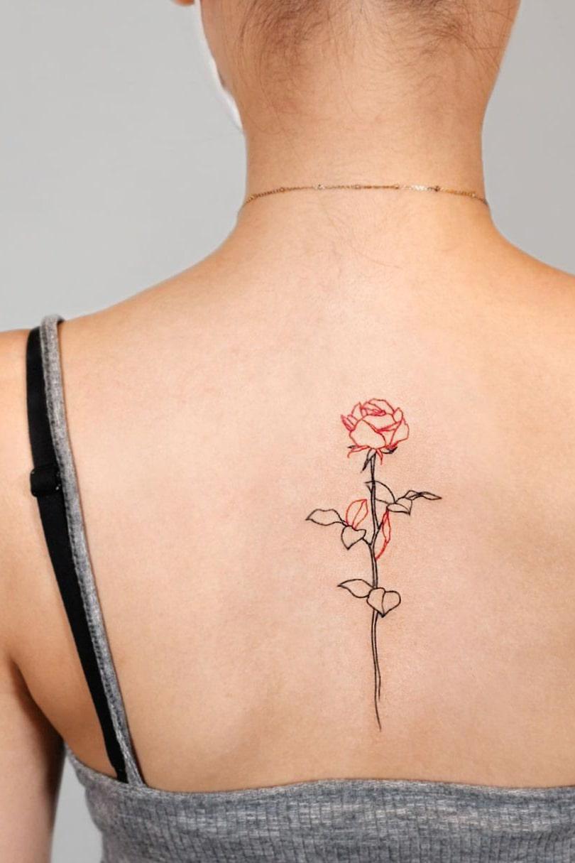 20 Glamorous Back Tattoo Ideas For Women   Ideasdonuts