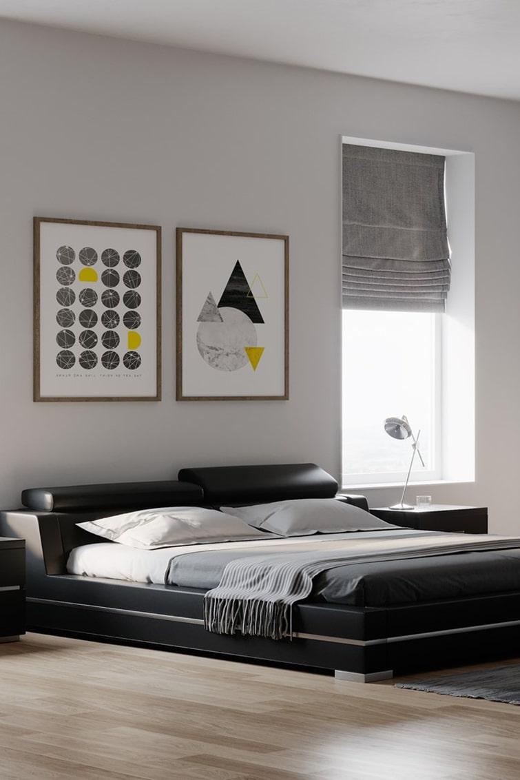 Inspiring modern bedroom