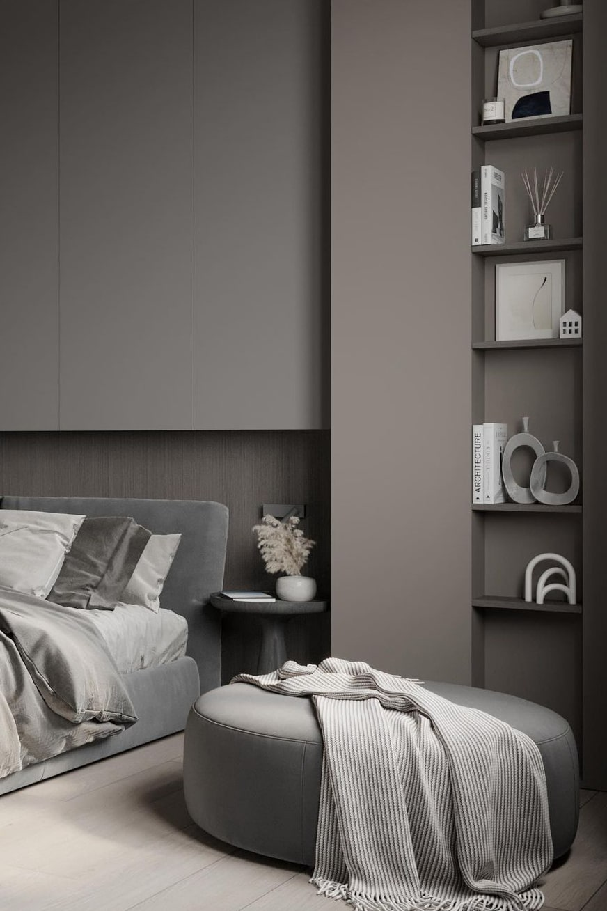 Luxurious modern bedroom