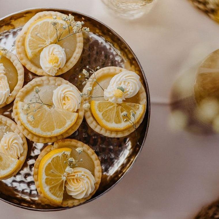 Wedding dessert with fruit