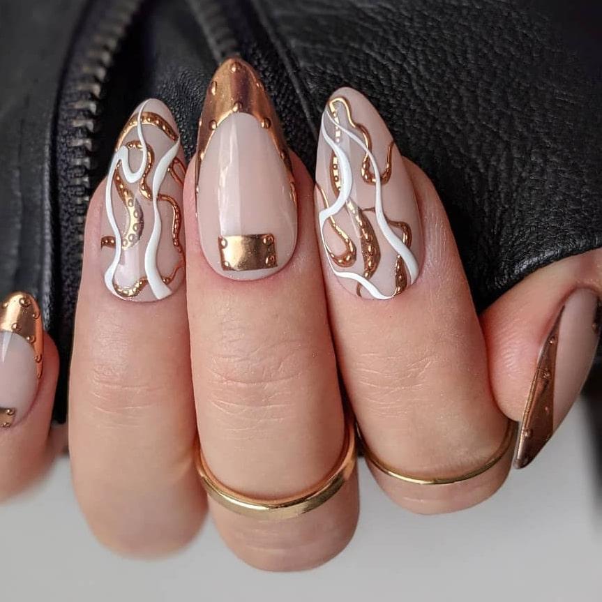 Heavy metal chrome nails