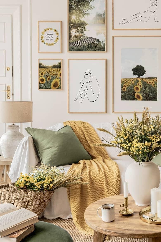 Bright floral print