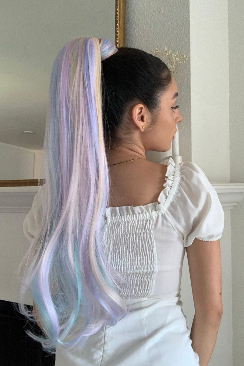Gorgeous and soft summer hair color