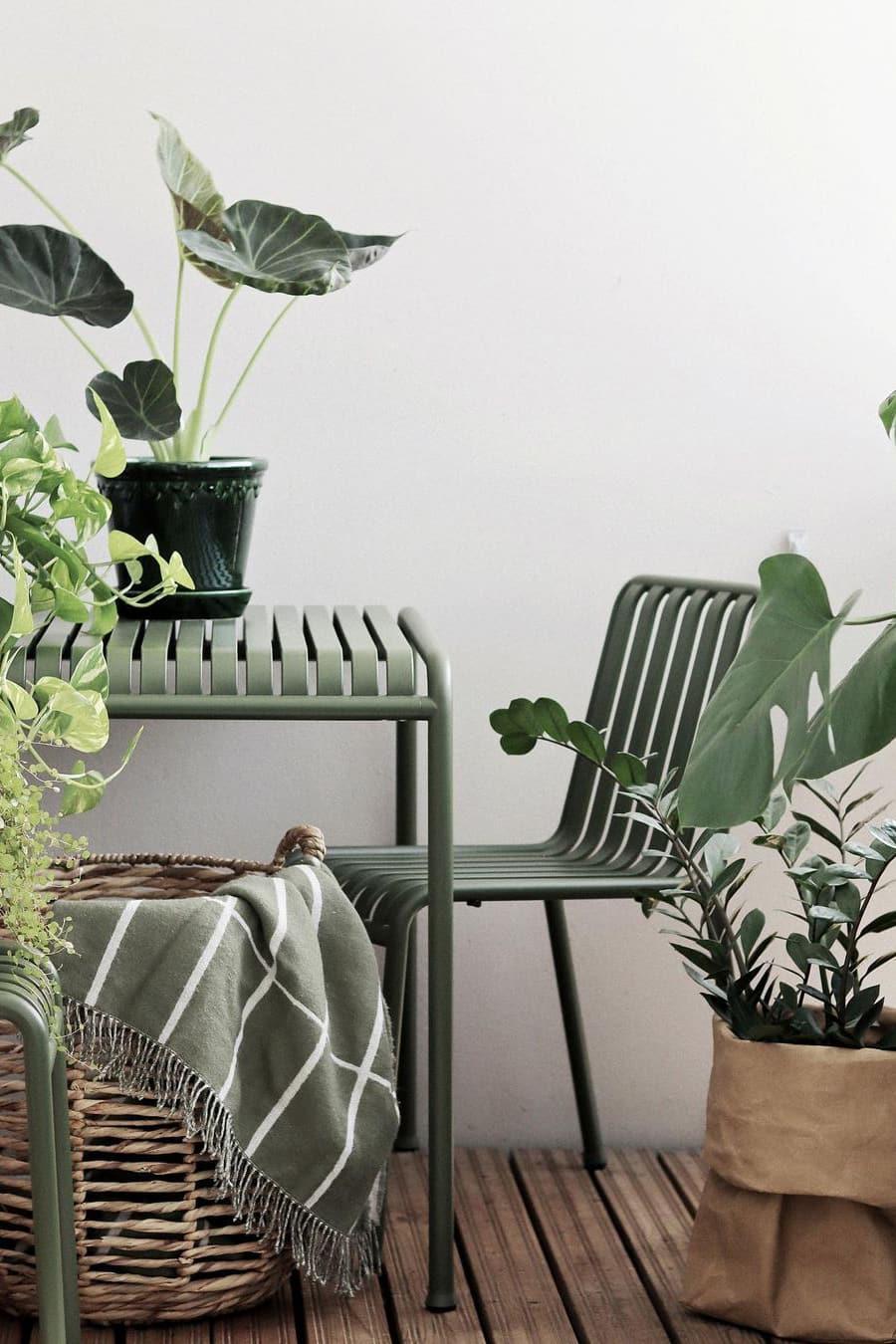 Minimalist small balcony furniture