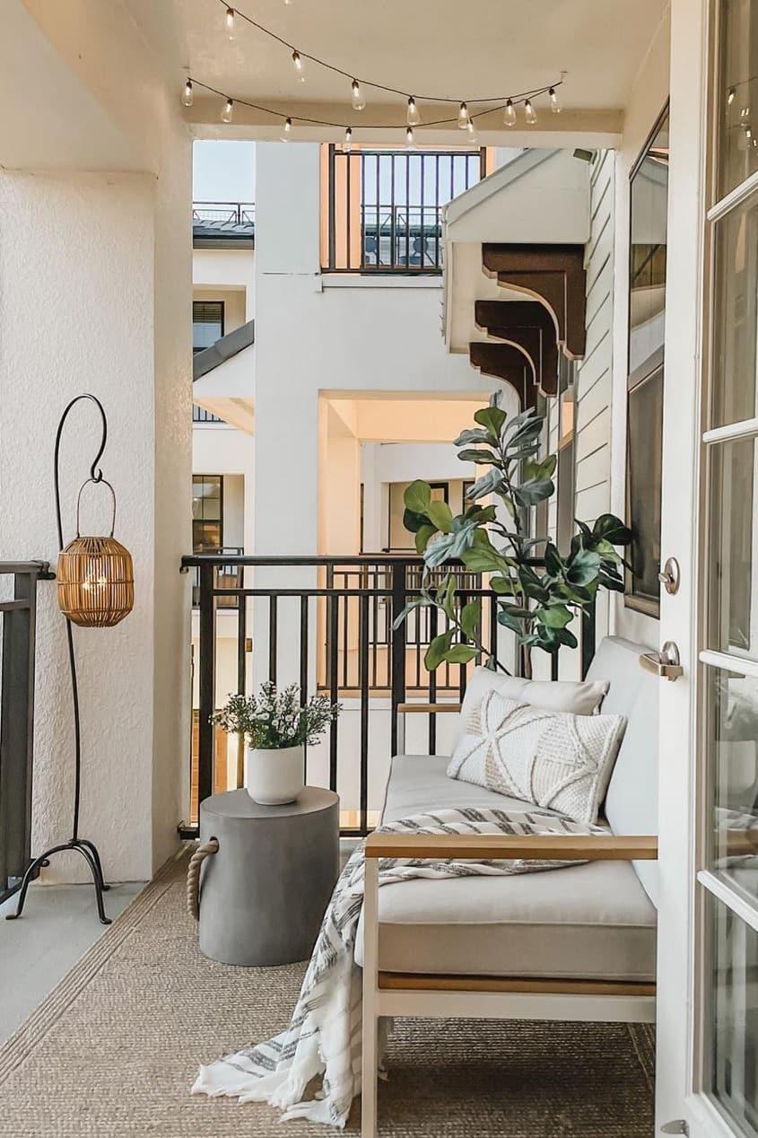 Modern small balcony