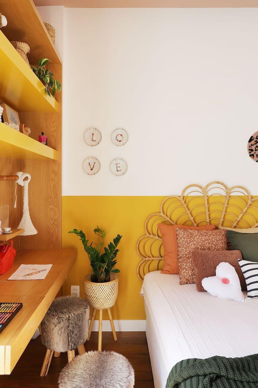 Bright yellow tones