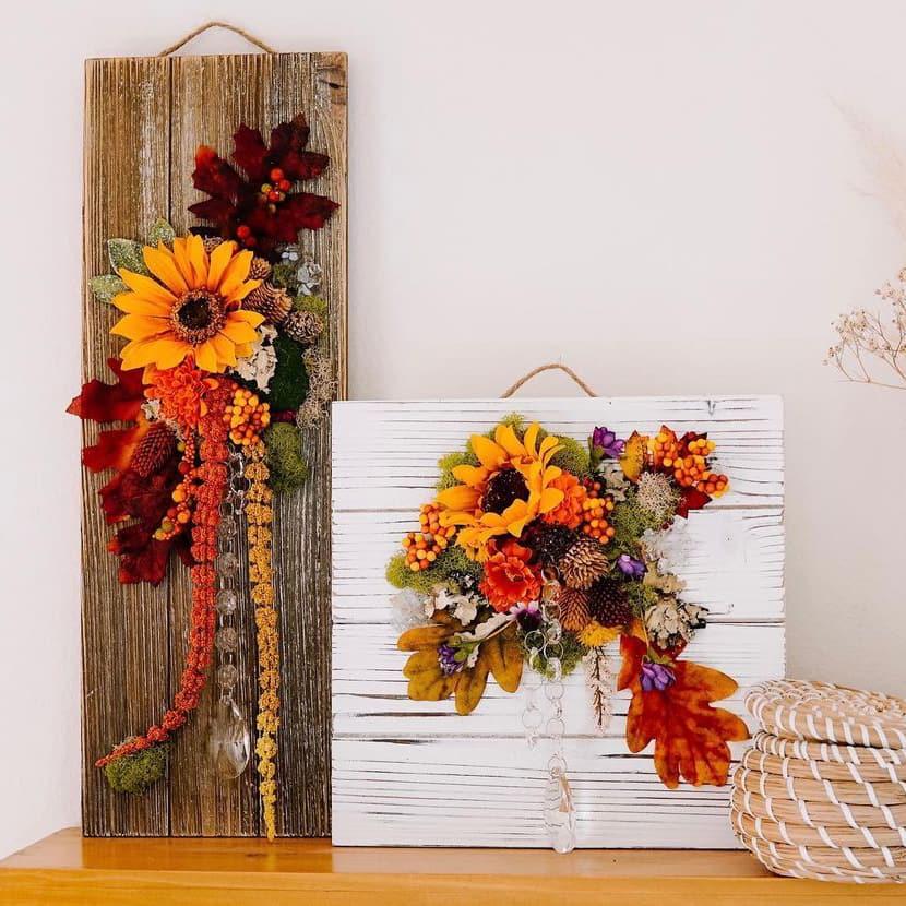 Flower Sign Board