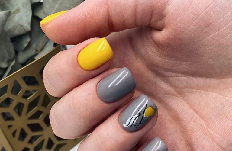 28 Chic Gray Nail Designs