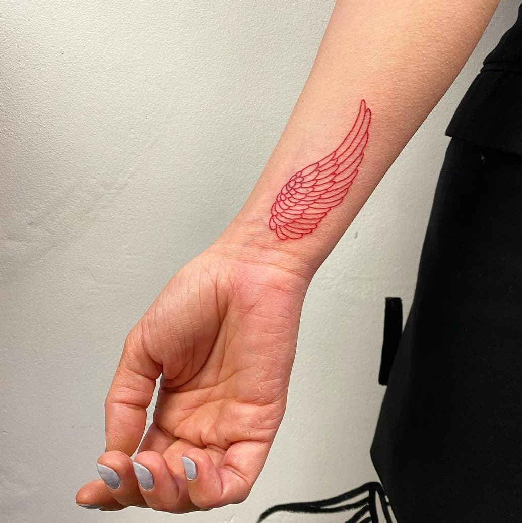 Red Wing Tattoo