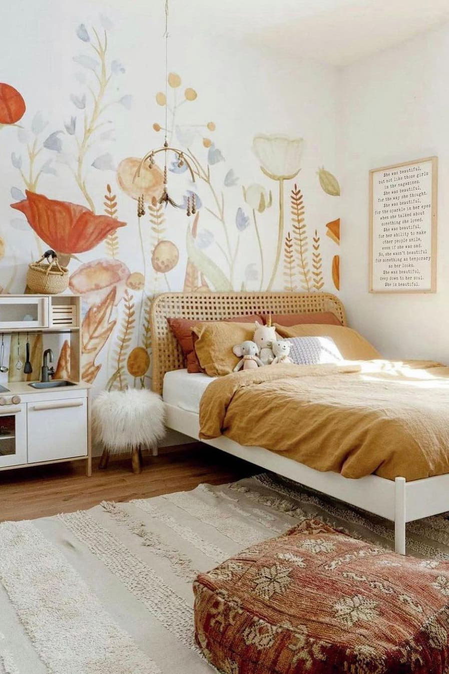Wall decoration of kids room