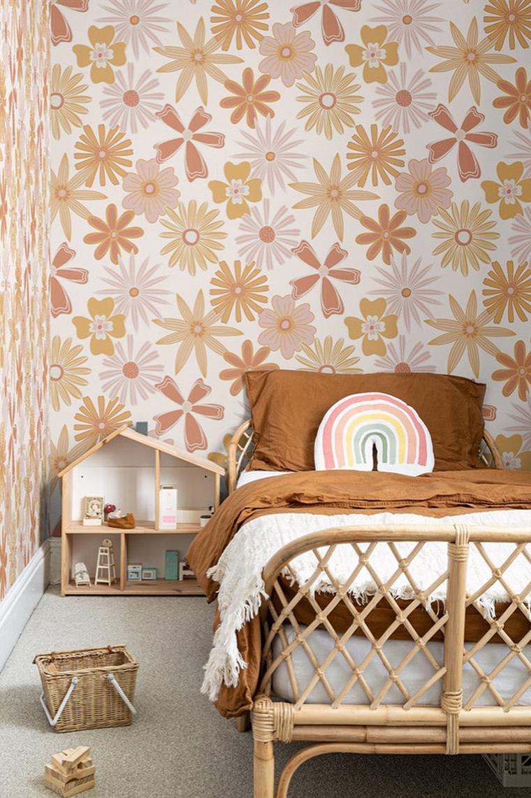 Beautiful teen bedroom wallpaper