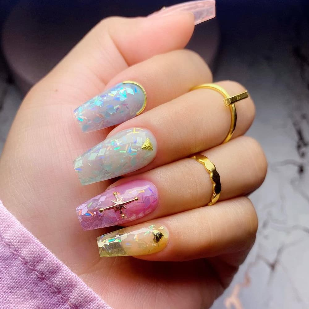 Gorgeous jelly nails
