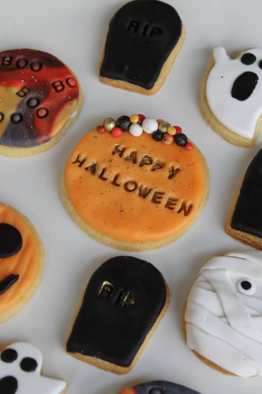 Happy Halloween Cookies