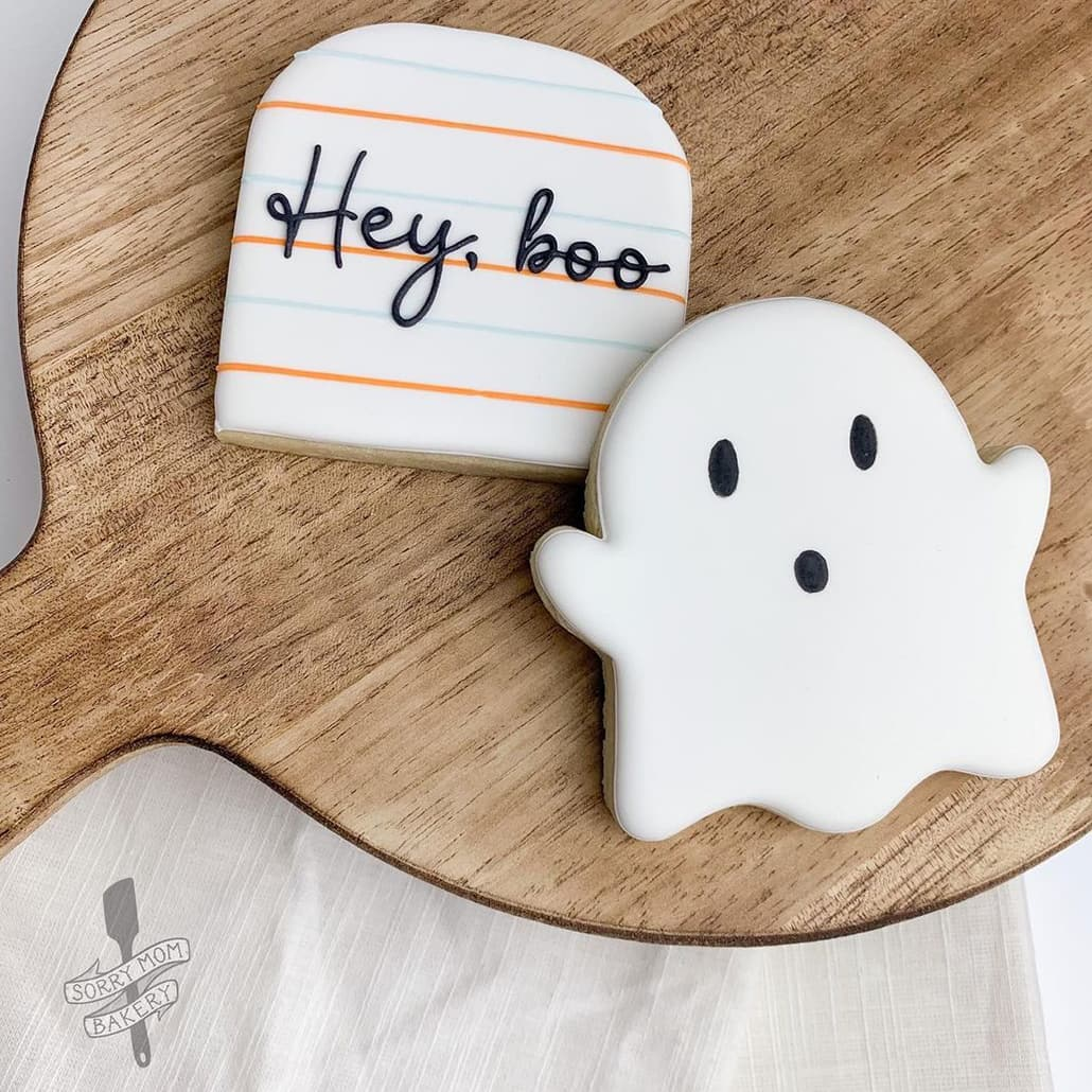 Little Ghost cookie Set