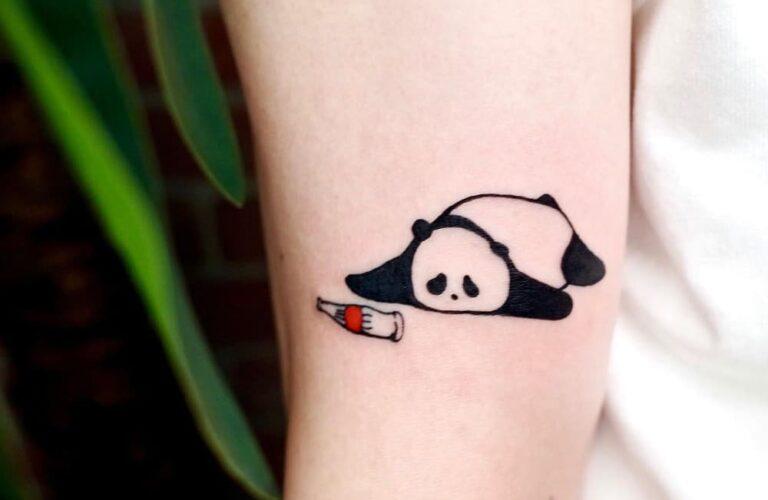 23 Lovely Panda Tattoo Designs