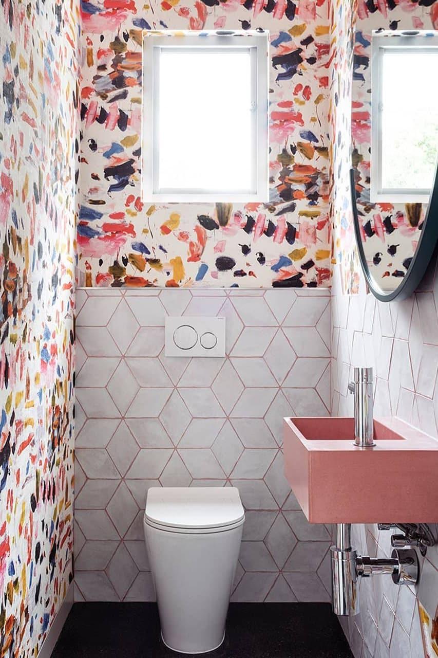 Personalized small bathroom