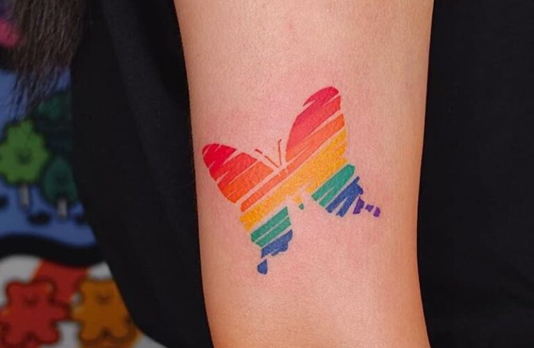 23 Gorgeous Rainbow Tattoo Art Ideas