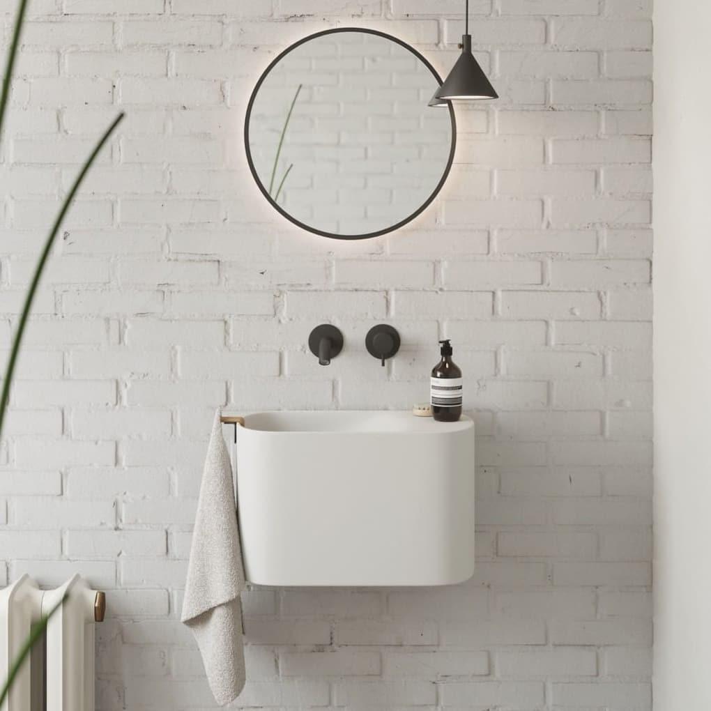 Unique sink for small bathroom
