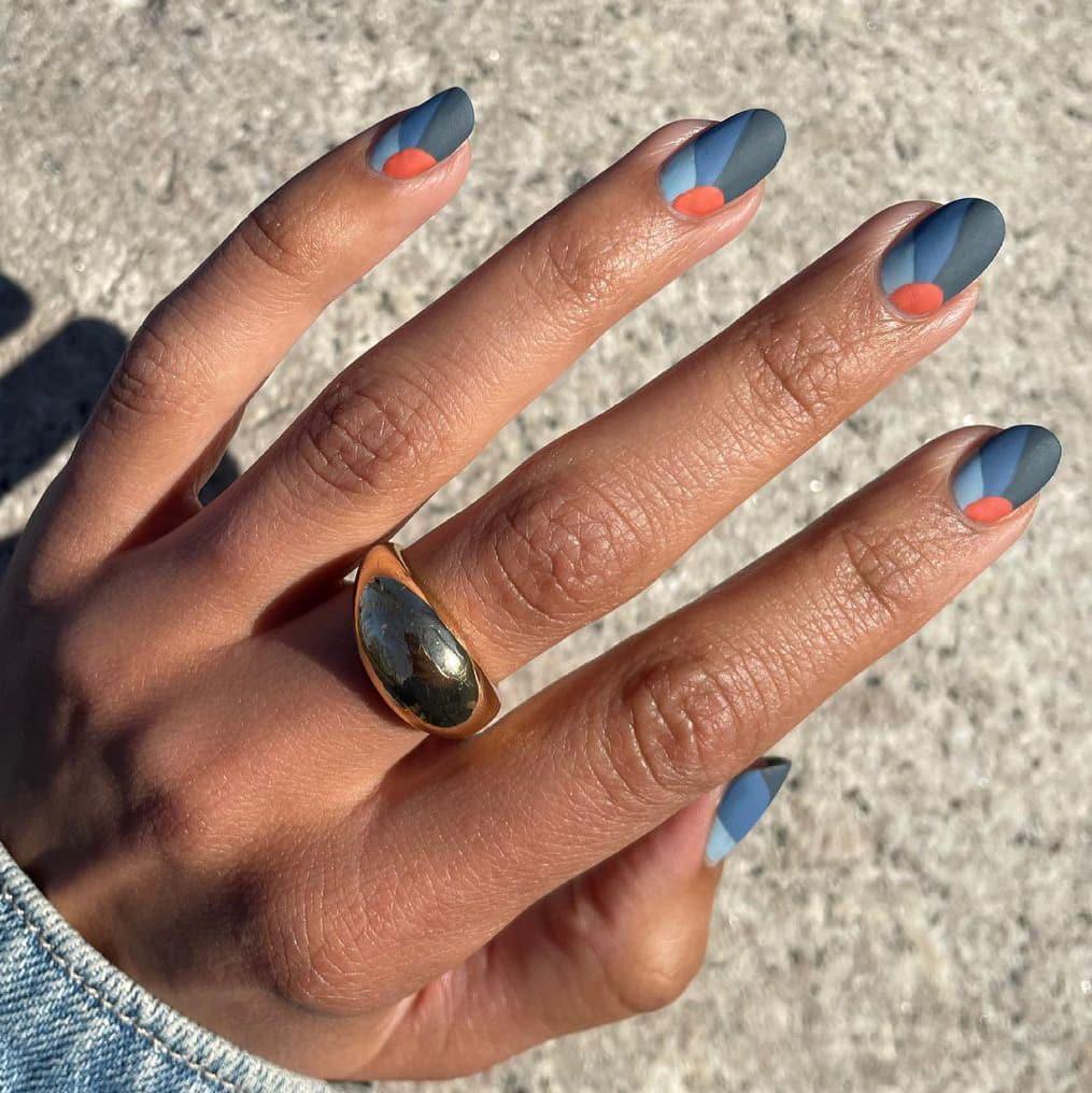 Cool boho nails