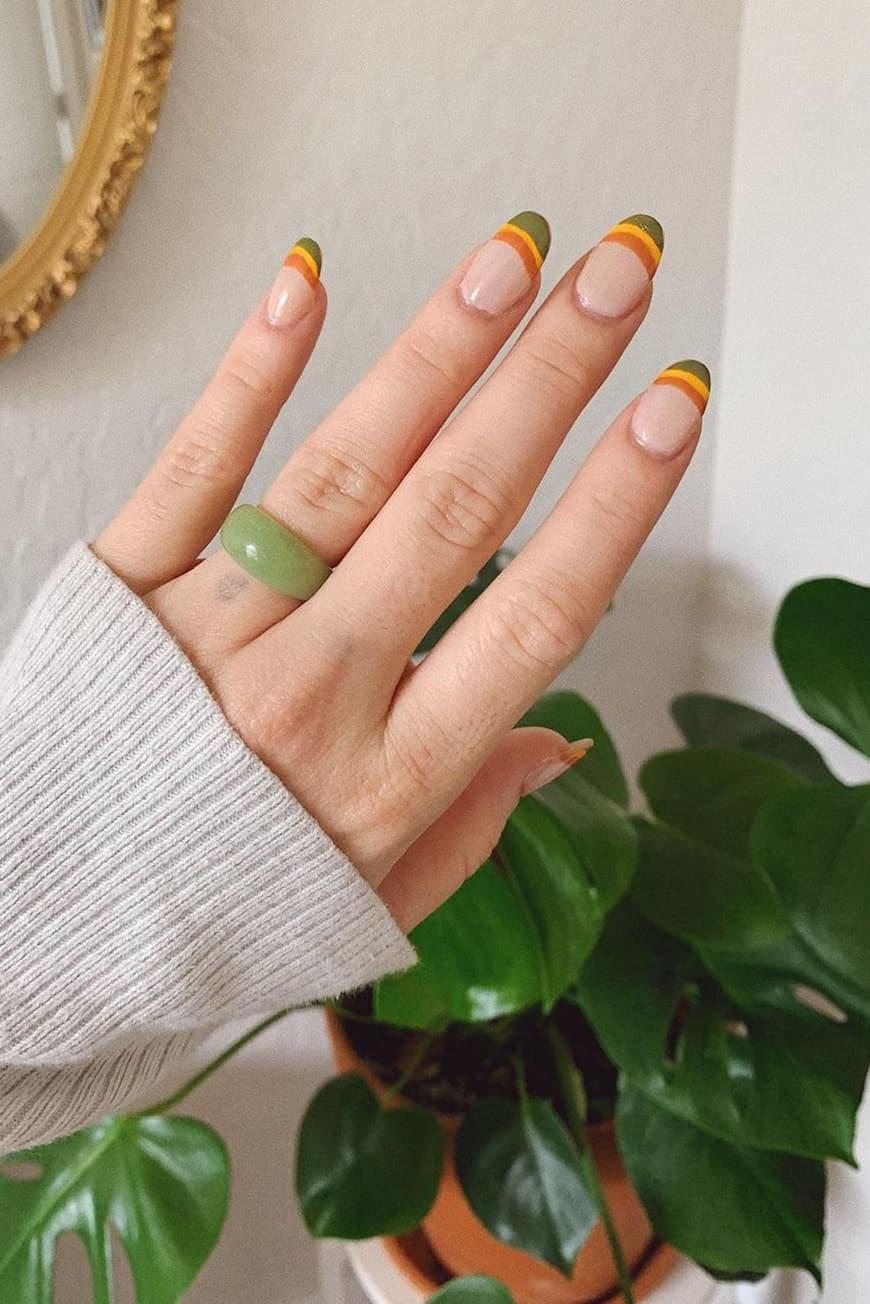 French boho nails