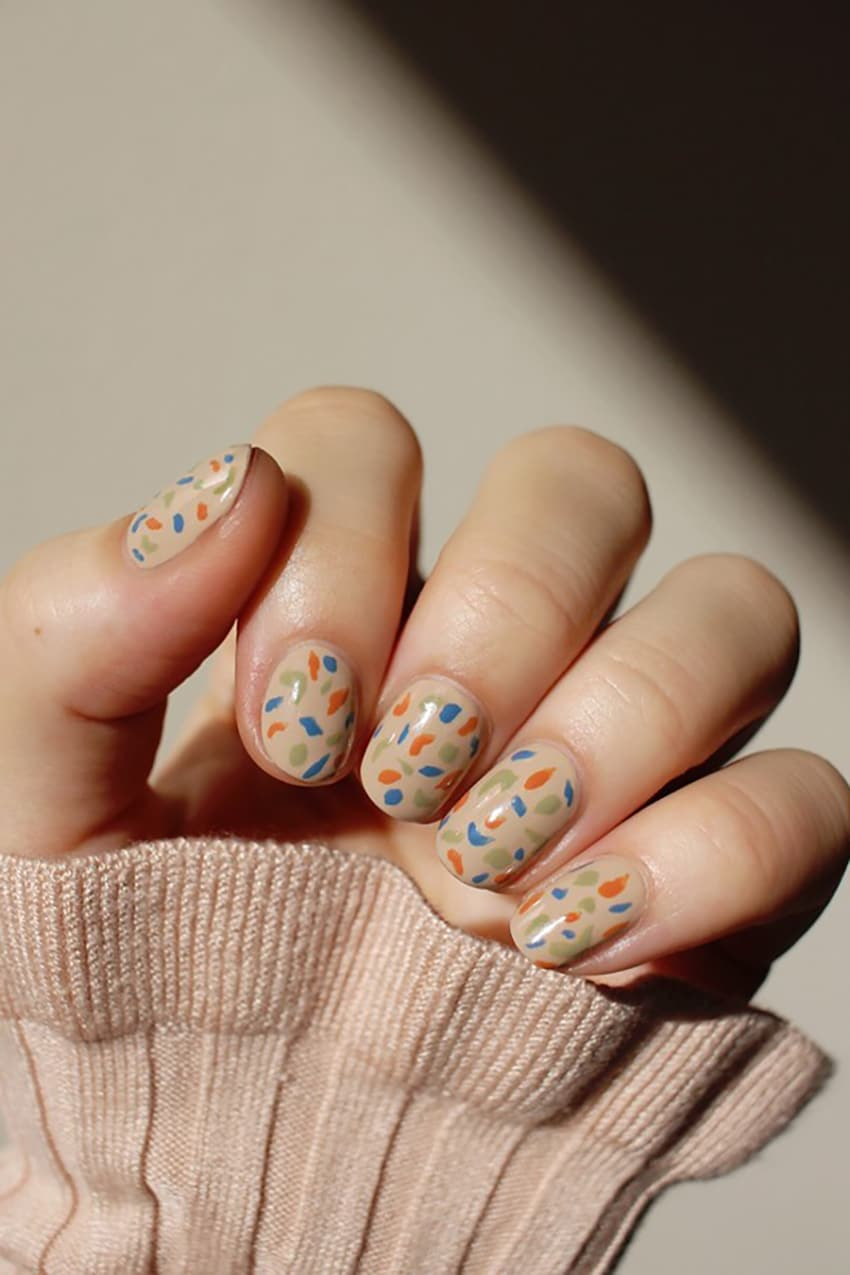 Fun boho nails