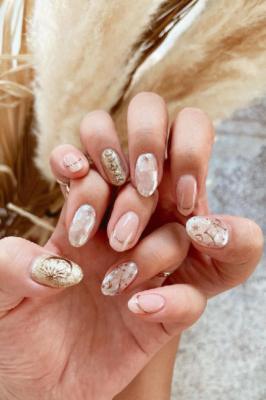 Gorgeous boho nails
