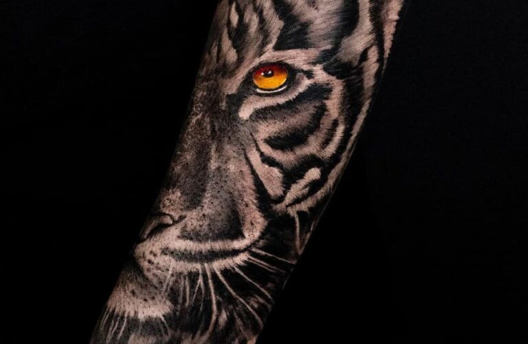 42 Awesome Tiger Tattoo Design Ideas